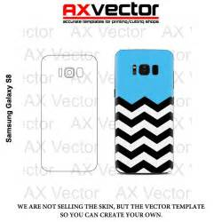 samsung galaxy s8 vector template contour cut for skins