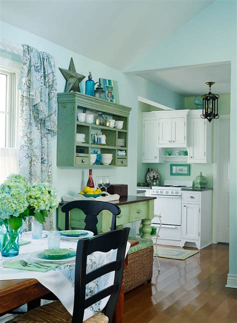 interior colors for small homes small lake cottage with turquoise interiors home bunch