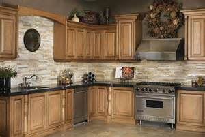 Stone Kitchen Backsplash Kitchen Stone Backsplash Ideas With Dark Cabinets