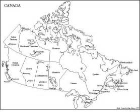 map of canada with provinces territories and their