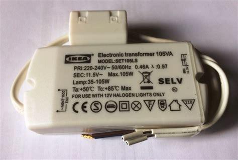 electronic transformer for 12v halogen ls set105ls halogen trafo 11 5v eff 35 105w elektronik