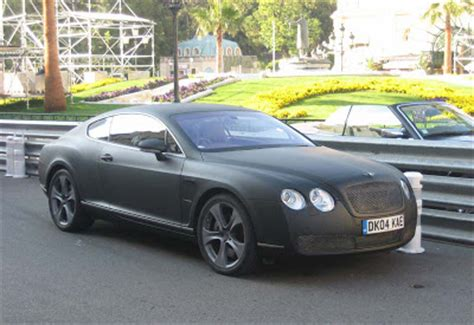 matte bentley bentley spotting matte black bentley continental gtm monaco