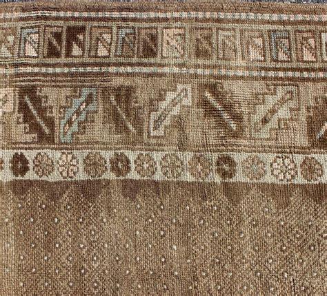 turkish tribal rugs tribal turkish oushak gallery rug for sale at 1stdibs