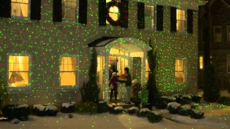 elf light laser show house projector techno source 97515 elf light red green laser lights house projector youtube