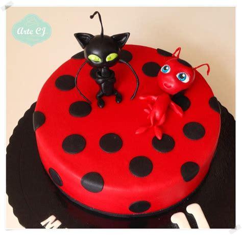Birthday cake miraculous ladybug cake by arte cj cakesdecor