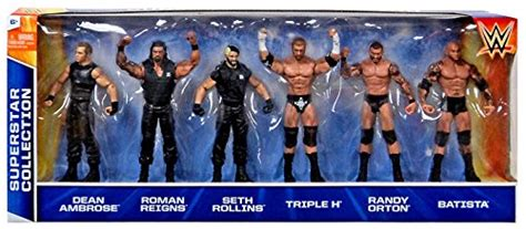 wwe wrestling exclusives superstar collection action