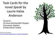 Speak By Laurie Halse Essay by Task Cards All Levels And Seasons On Task Cards Math Task Cards And Early Finishers