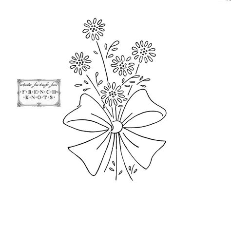 flower pattern embroidery free embroidery transfer patterns vintage flowers