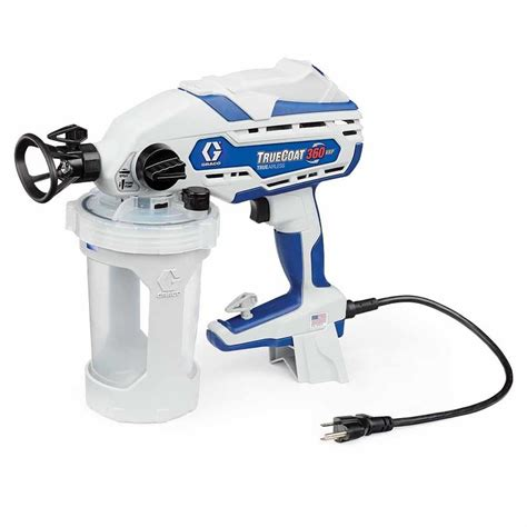 paint sprayer shop graco truecoat 360vsp electric handheld airless paint