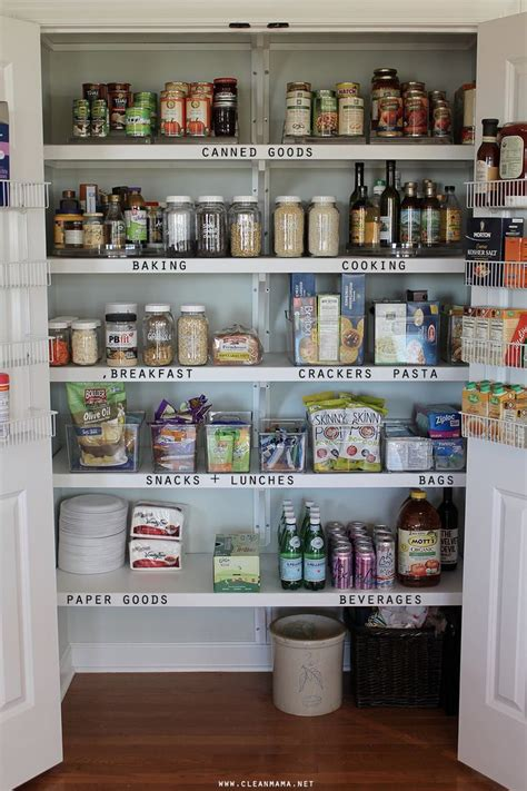 ideas for organizing kitchen pantry great organizing tips for a smaller pantry diy