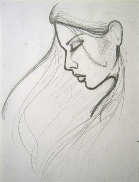 Simple Girl Drawing Easy Girl Drawing Free Download Clip Art Free Clip Art On Drawings Free Drawing Pictures