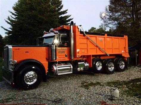 scow dump truck peterbilt dump trucks pinterest peterbilt dump