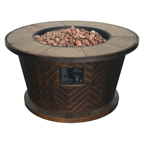 Bond Portofino Round Gas Fire Table Fire Pits At Hayneedle Bond Firepits
