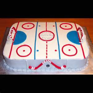 Power Rangers Decorations Pin Hockey Cake Cake On Pinterest