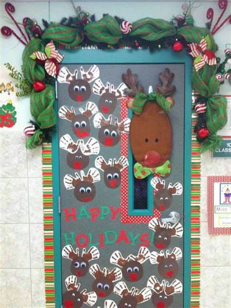 school door christmas decorating ideas top door decorations celebration all about