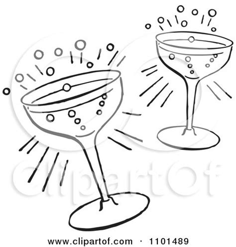 mixed drink clipart black and white mixed drink black and white clipart