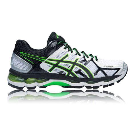 support running shoes mens asics gel kayano 21 mens white black running support sport
