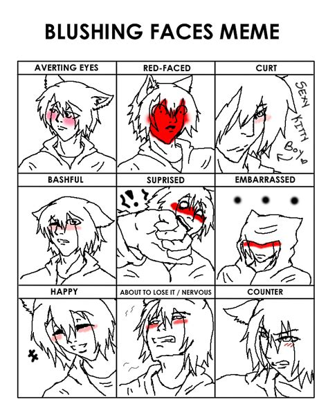 Blush Meme - blush meme yurichi by keebsification on deviantart