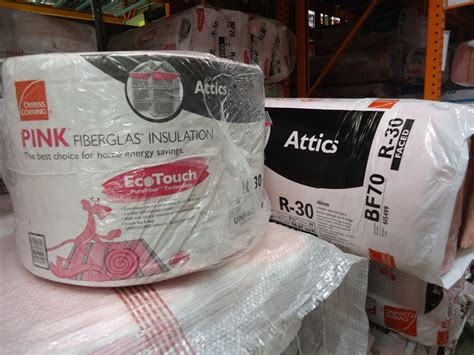 owens corning r 21 kraft faced insulation batts 23 in x
