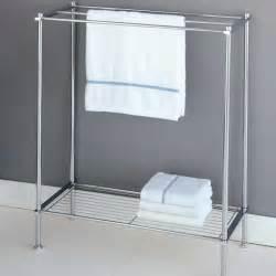 iron bath towel towel rack with shelf iron free standing towel rack for small bathroom
