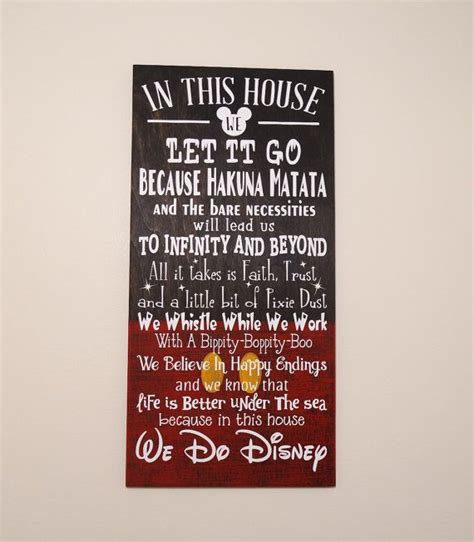 home decorating signs 25 unique disney sign ideas on disney sayings