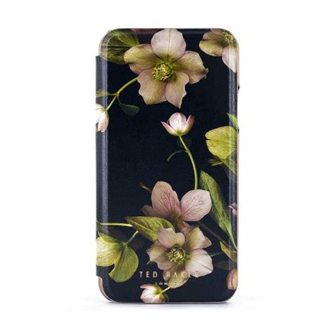 ted baker charlm mirror folio case  iphone xr