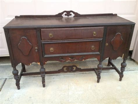 antique buffet table furniture wishes