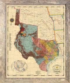 republic of map 1845 republic of 1845 framed