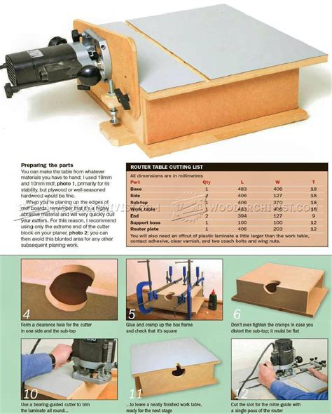 how to build a router table build horizontal router table woodarchivist