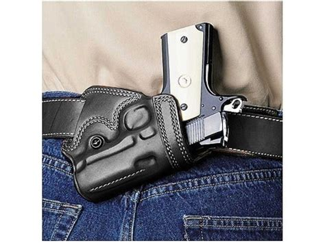 1911 small of back concealed carry holsters galco small of back holster right hand glock 29 30 38