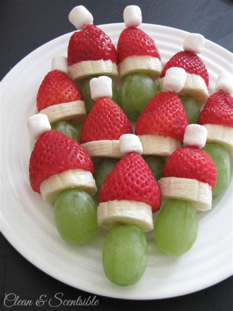 fruits for christmas party healthy food ideas for clean and scentsible