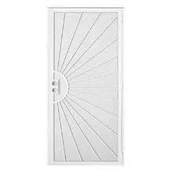 home depot security door unique home designs 36 in x 80 in solana white surface
