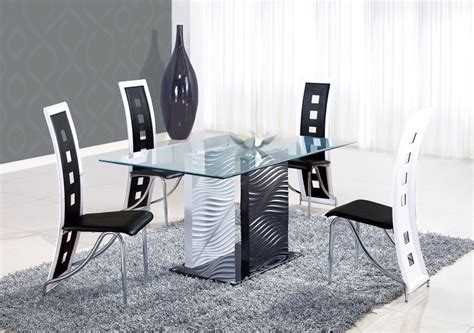 Rattan Kitchen Chairs The Best Modern Dining Room Sets Amaza Design
