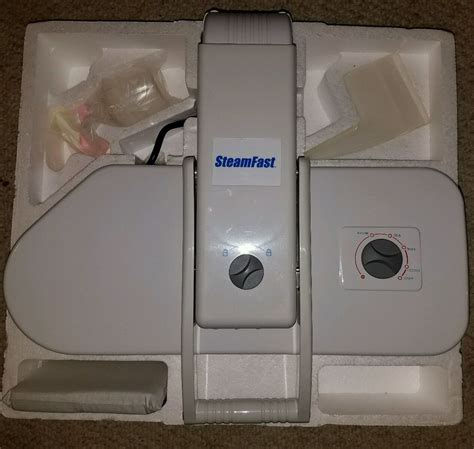 table top steam press iron steamfast sp 660 table top steam press steamer psp 990a ebay