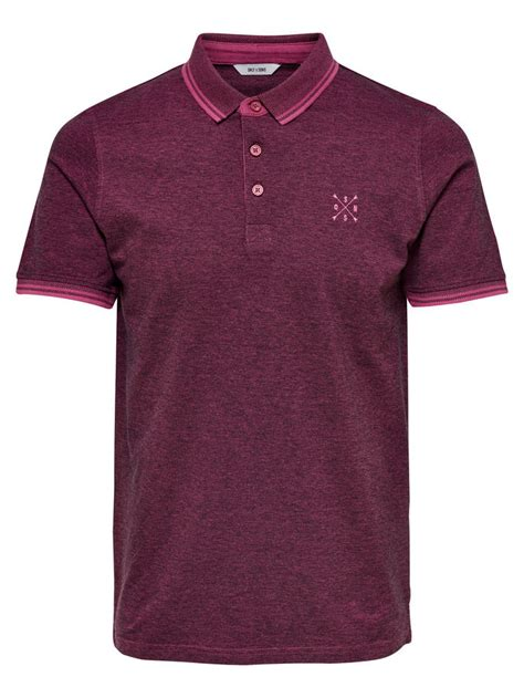 Vans Os Maroon Poxsing Polos polo 10store