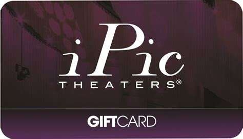 Ipic Theater Gift Card - ipic theaters gift card