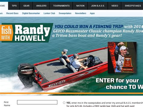 Costa Del Mar Boat Giveaway - the fish with randy howell sweepstakes sweepstakes fanatics