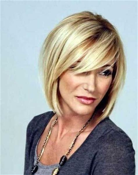 medium length layered hairstyles for over 40 layered hairstyles with bangs for women over 40 long