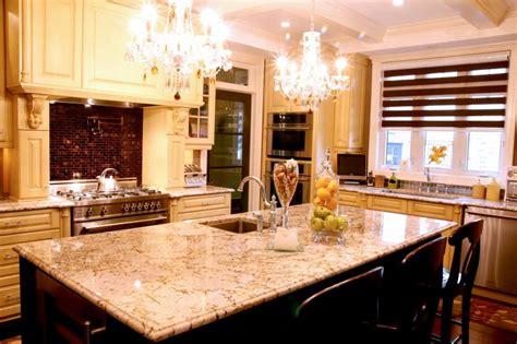 Beautiful Countertops by Beautiful Custom Kitchens Countertops By Granite Innovations