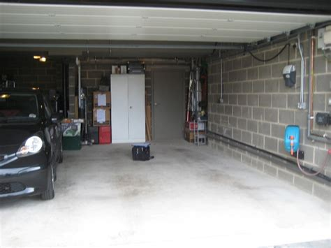 Waterproofing (tanking) wet garages   Trace Basement Systems