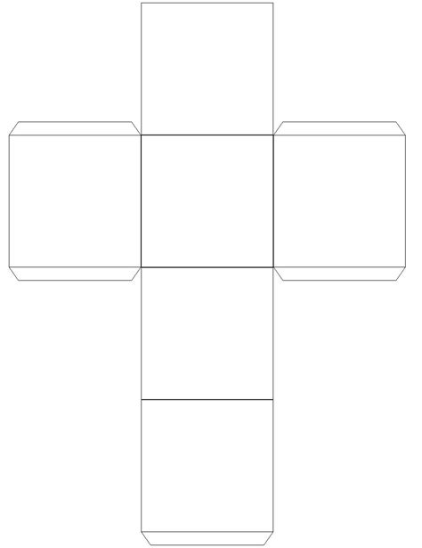 search results for cube net printable template