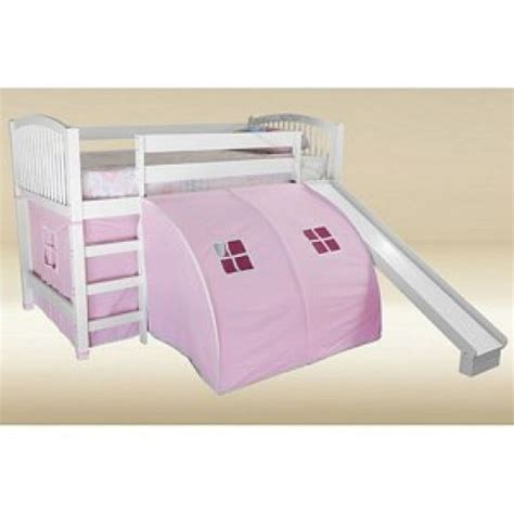 White Bunk Bed With Slide White Loft Bed With Slide Bedroom