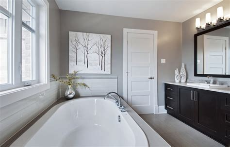 Innovative Gray Living Room Look Ottawa Traditional Modern Traditional Bathroom Ideas