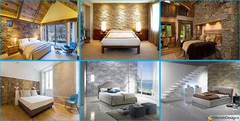 pareti camere da letto moderne pareti rivestite in pietra per camere da letto classiche o
