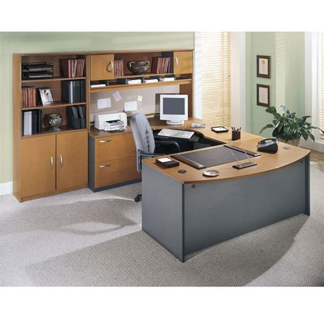 chic bush office desk for your furniture home design ideas