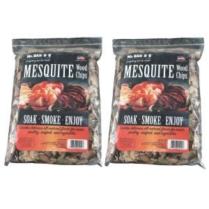mr bar b q 2 lbs mesquite wood chips 05010x the home depot