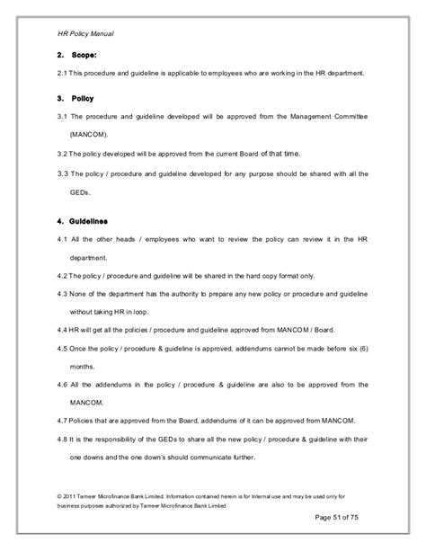 company policies and procedures template free company policies and procedures template free free human