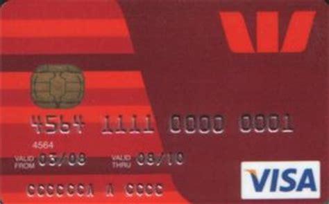 Westpac Gift Card - bank card westpac westpac banking corporation australia col au vi 0001