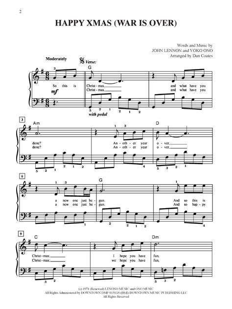 strumming pattern happy xmas war over merry christmas war is over christmas cards