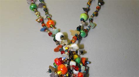 guatemalan beaded necklaces guatemalan artisan crafted glass bead necklace 3